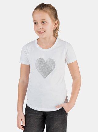 Bílé holčičí tričko s potiskem SAM 73 Yuno