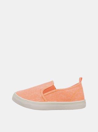 Oranžové holčičí slip on SAM 73