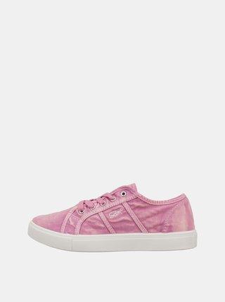 Růžové dámské tenisky SAM 73 Neema