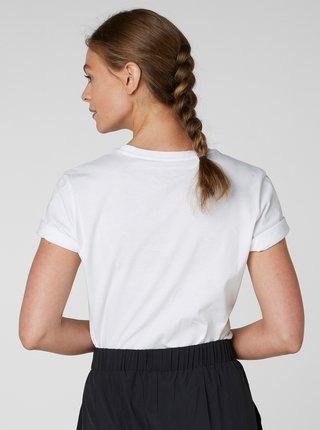 Bílé dámské tričko s potiskem HELLY HANSEN Logo