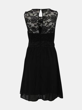 Čierne krajkové šaty VILA Sallisa
