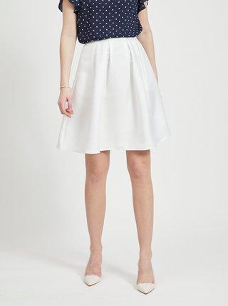 Biela sukňa VILA Kamma
