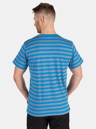 Modré pánské pruhované tričko SAM 73 Samiar