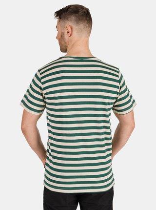 Zelené pánské pruhované tričko SAM 73 Samiar