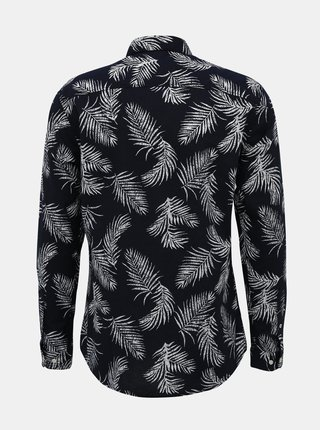 Tmavomodrá vzorovaná košeľa Jack & Jones Summer