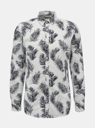Biela vzorovaná košeľa Jack & Jones Summer