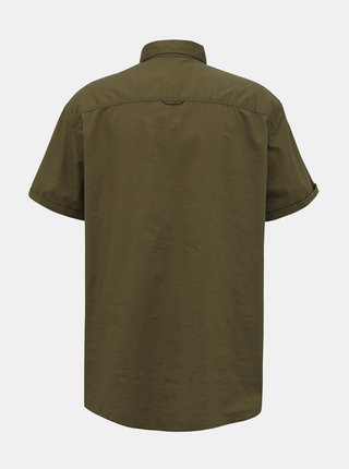 Khaki košile Jack & Jones Marc