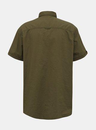 Kaki košeľa Jack & Jones Marc