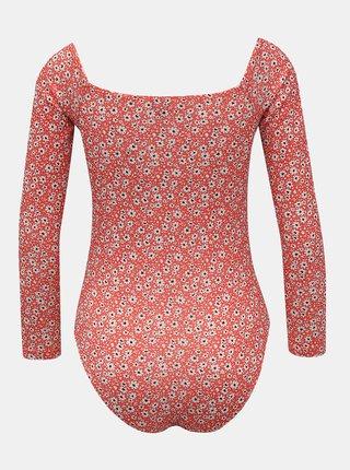 Červené kvetované body Miss Selfridge Ditsy