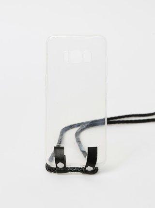 Transparentný obal na Samsung Galaxy S8 Haily´s Carry