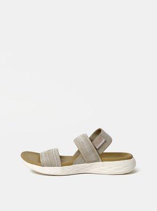 Béžové dámske sandále LOAP Drew