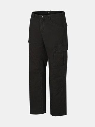Černé pánské kalhoty Hannah Curent