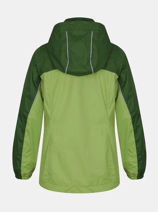 Zelená chlapčenská vodeodolná bunda Hannah Peeta