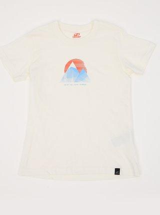 Biele detské tričko s potlačou Hannah Darley