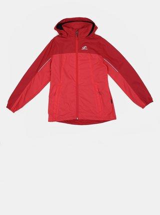 Ružová dievčenská vodeodolná bunda Hannah Peeta
