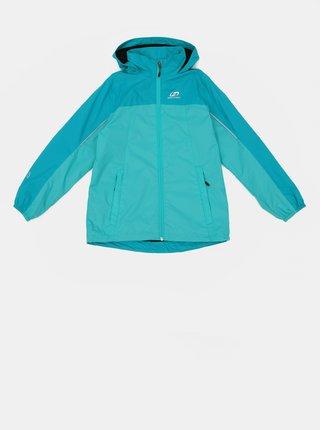 Tyrkysová dievčenská vodeodolná bunda Hannah Peeta