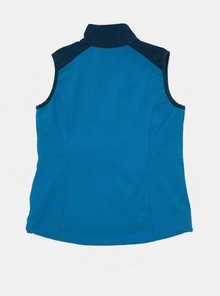 Modrá dětská softshellová voděodolná vesta Hannah Loras