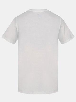 Biele pánske tričko s potlačou Hannah Matar