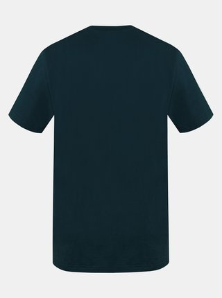 Tmavozelené pánske tričko s potlačou Hannah Waldorf