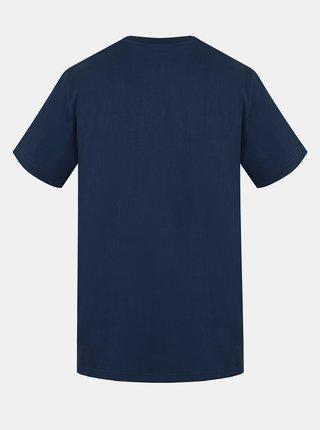 Modré pánské tričko s potiskem Hannah Waldorf