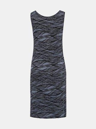 Tmavě šedé vzorované šaty Hannah Alavona