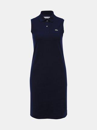 Tmavě modré šaty Lacoste