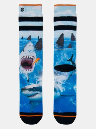 Modré pánske ponožky XPOOOS