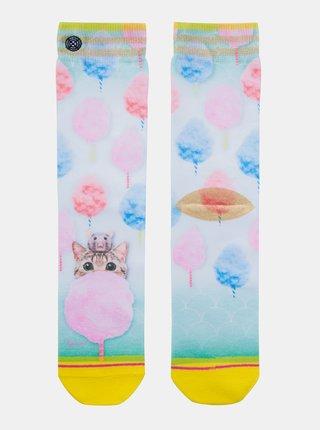 Bielo-modré dámske ponožky XPOOOS