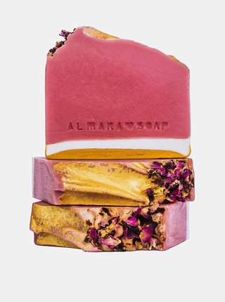 Mýdlo s vůní grepu a broskve Almara Soap Růžový grep