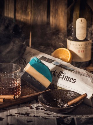 Mydlo s dymovou vôňou dreva Almara Soap Gentlemen's Club