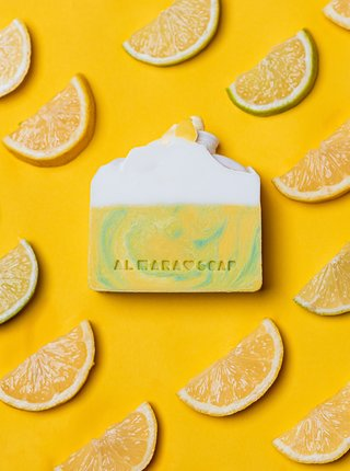 Mydlo s vôňou citrusov Almara Soap Bitter Lemon