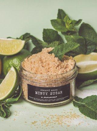 Cukrový scrub na telo Almara Soap Minty sugar