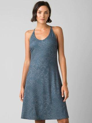 Šedé vzorované šaty prAna Opal