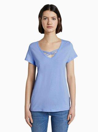 Svetlomodré dámske tričko Tom Tailor Denim