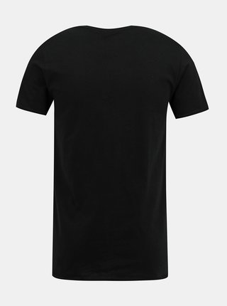 Čierne pánske tričko s potlačou ZOOT Original Holky nebiju