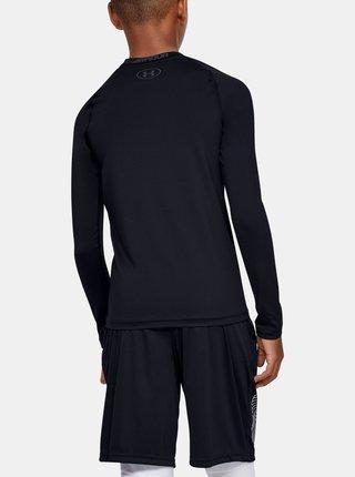 Čierné klučičí tričko HeatGear Under Armour