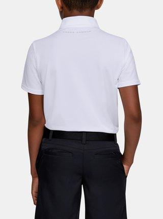Bílé klučičí tričko Performance Under Armour