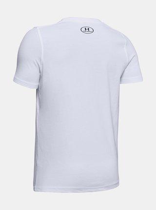 Bílé klučičí tričko Under Armour