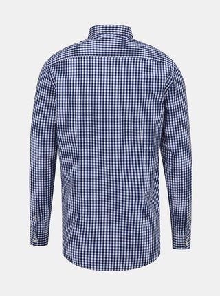Modrá pánska kockovaná košeľa Pepe Jeans Arnol