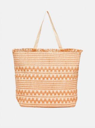 Svetlohnedá plážová jutová taška Dorothy Perkins