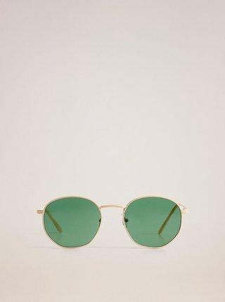 Béžové sluneční brýle Mango Alexis