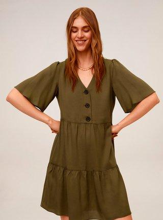 Khaki šaty Mango Rita