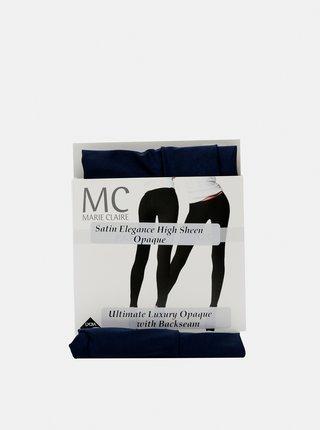 Tmavě modré punčochové kalhoty Marie Claire