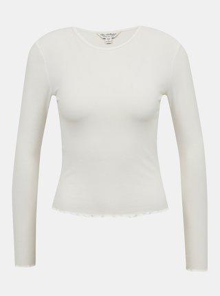 Krémové tričko Miss Selfridge