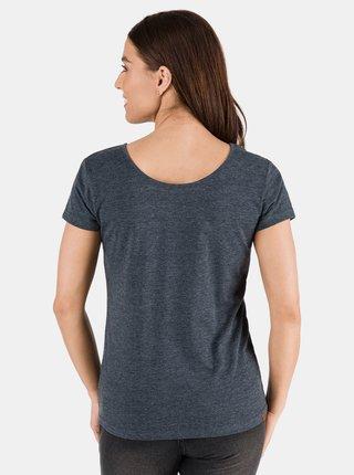 Tmavomodré dámske basic tričko SAM 73