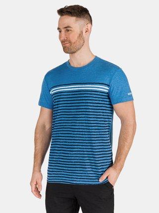 Modré pánske pruhované tričko SAM 73