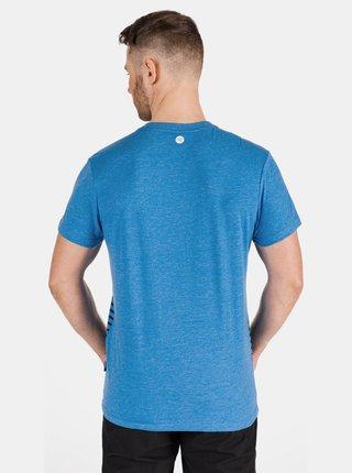 Modré pánské pruhované tričko SAM 73