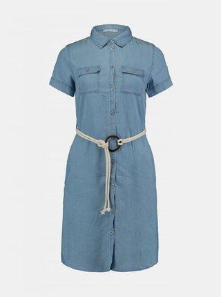 Modré košeľové šaty Haily´s Penny
