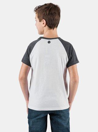 Bílé klučičí tričko s potiskem SAM 73