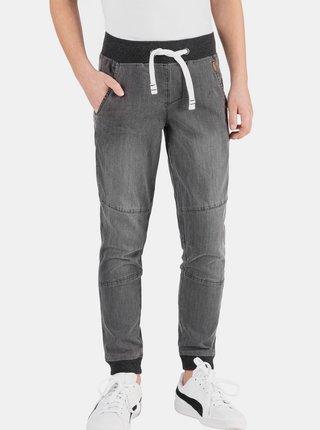Šedé klučičí kalhoty SAM 73